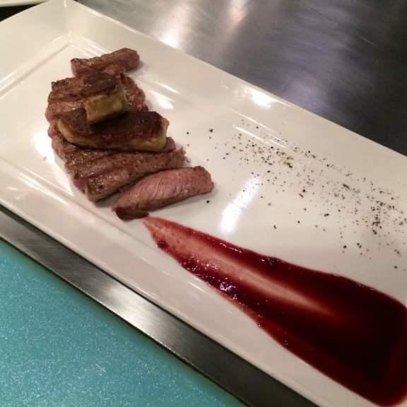 Rib-eye Steak with Foie Gras