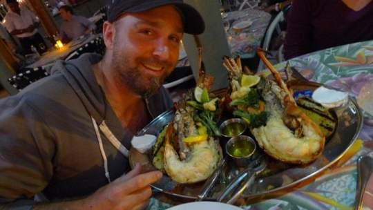 A 4-lb Lobster