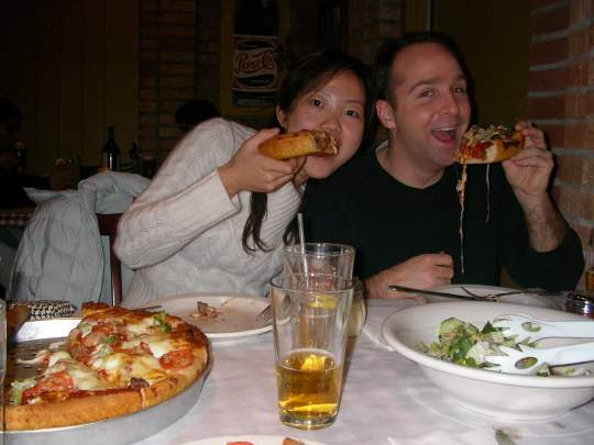 Pizza, Chicago Style