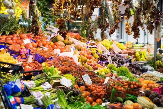 Produce Market, Florence, Italy
