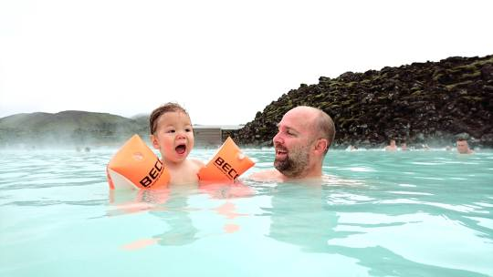 """""""It's hot in here!"""" Blue Lagoon, Iceland (60E+/person)"""