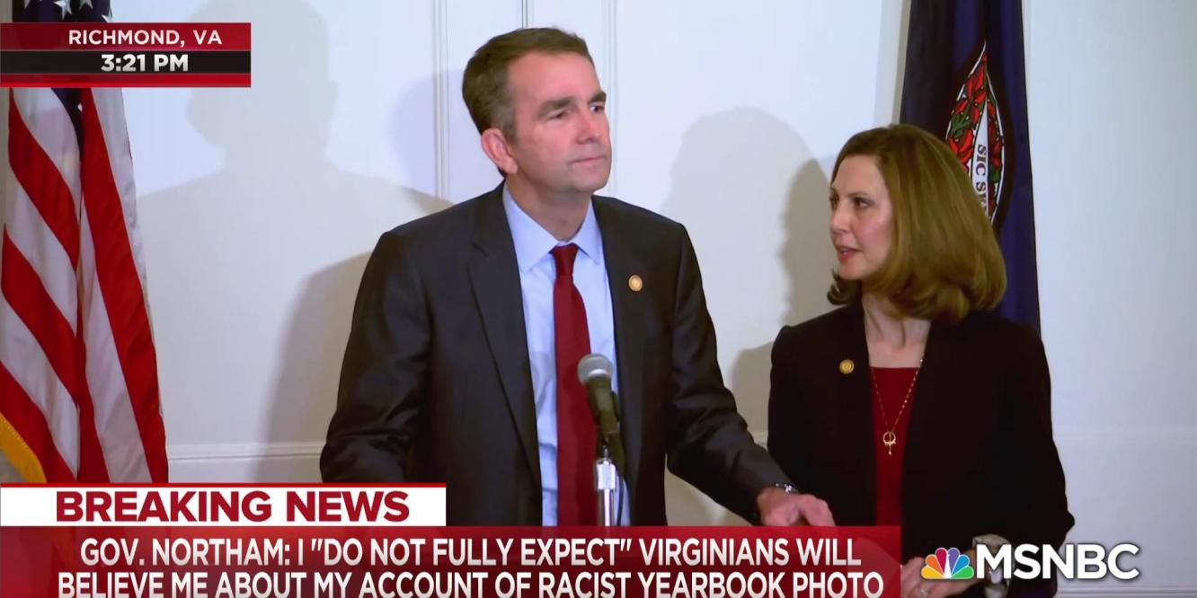 Past Sins, Current Events, & Ralph Northam