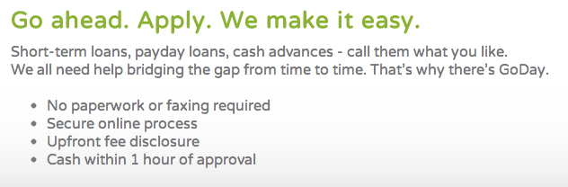 Why Choose GoDay for Payday Loans