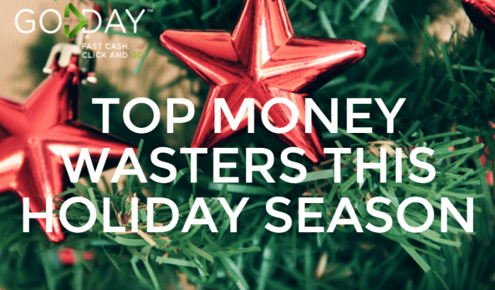 Top Money Wasters This Holiday Season