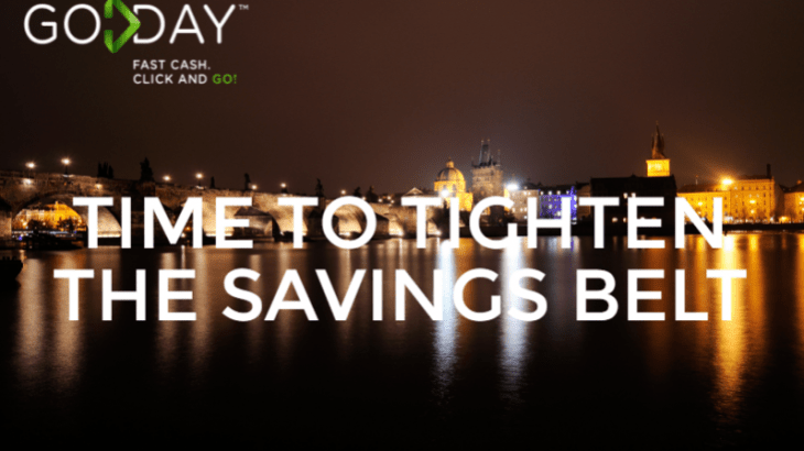 How To Prepare To Tighten The Savings Belt