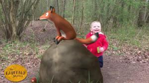 Gruffalo Spotting gruffalo_spotter salcey_forest fox