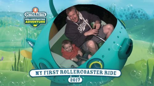 Cbeebies Land Alton Towers Octonauts Ride Bilbo and Daddy