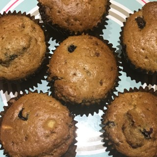 Apple and Blueberry Muffins Batch