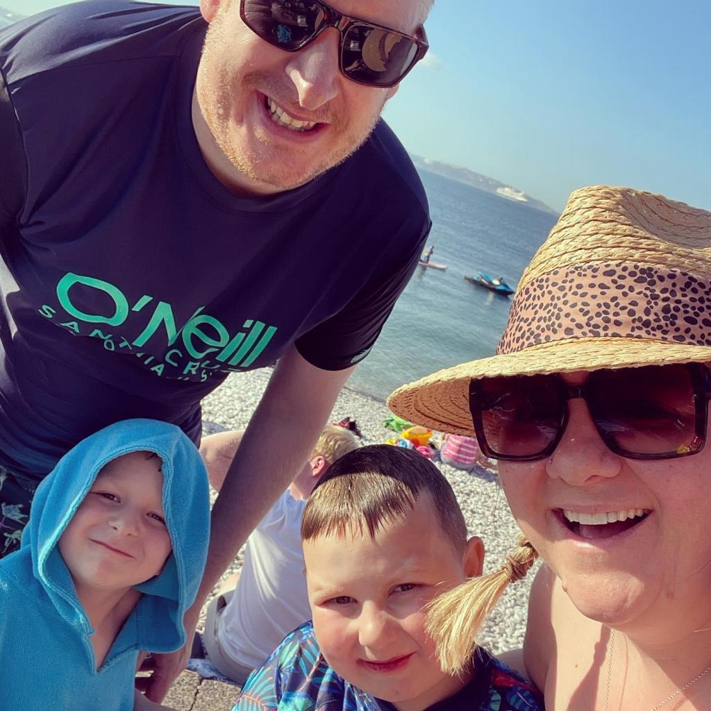 Godber Family selfie