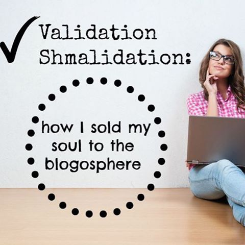 """I'm hoping all you bloggers out there can relate to my current dilemma. I have become stuck in the quagmire of """"techniques to grow your blog"""" and find myself forgoing my creativity in the endless pursuit of gaining readers.  I feel like I have sold my soul to the blogosphere. Read more at goddessarriving.com #bloglovin #bloggerlife #validation #sellout #beyourself #blogosphere #cincybloggers"""