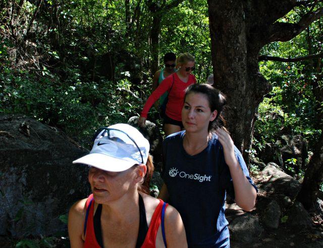 Climbing Gros Piton