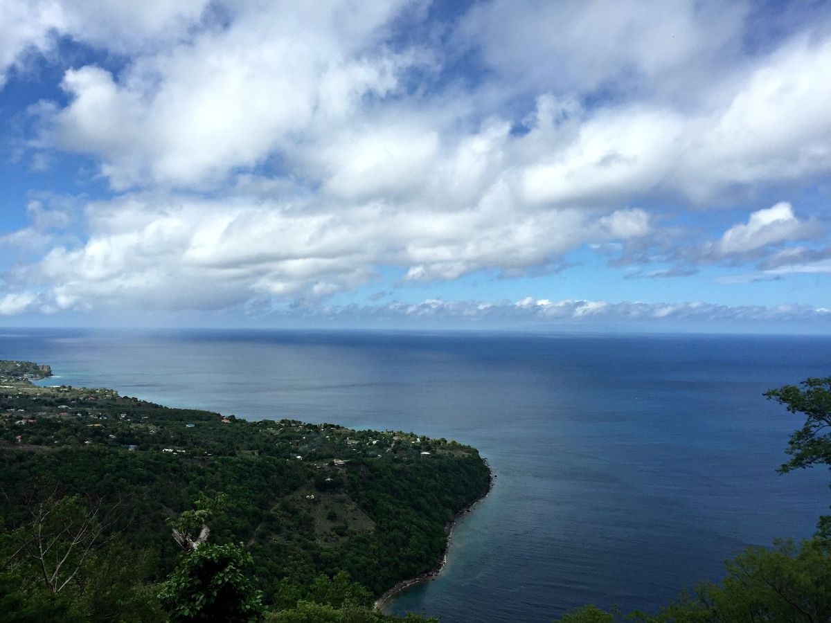 Gros Piton Overlook