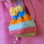 Drawstring Crochet Pouch - Holland Handmade