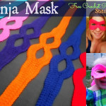 Ninja Mask Crochet Pattern by Corina Gray