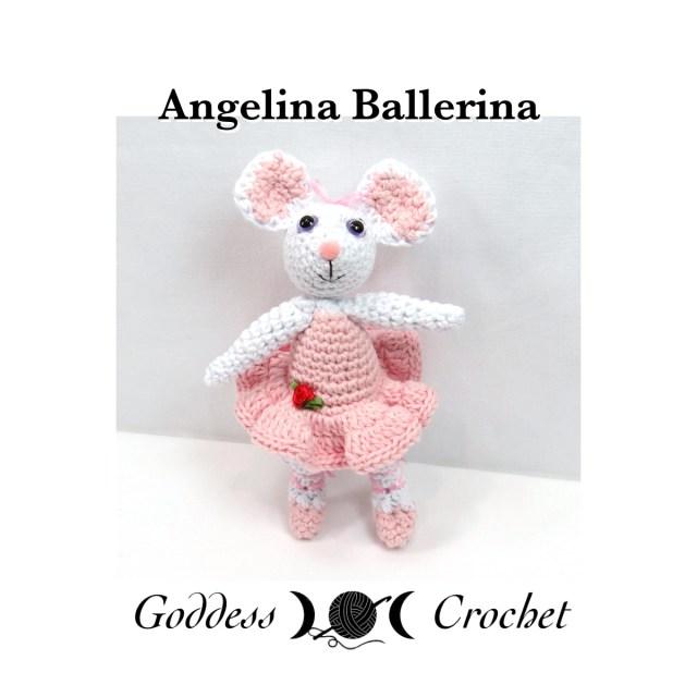 Ballerina-mouse - amigurumi pattern | Maus häkeln, Gehäkelte ... | 640x640