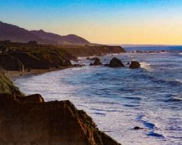 California Highway 1 Vintage Travel Poster - 2016