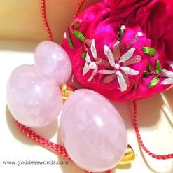 rose quartz yoni egg set, yoni egg set, yoni egg, jade egg, kegel, sacred sex, yoni eggs, yoni eggs canada, jade eggs canada, buy yoni eggs online, yoni eggs for sale Canada