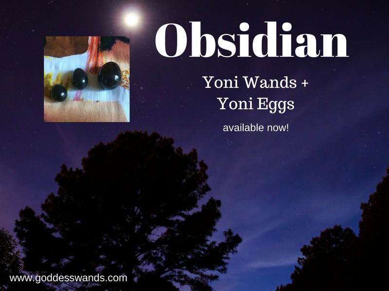 obsidian yoni wands, obsidian, yoni wand, yoni egg, jade egg, shakti wand, goddess wand, goddess wands, goddesswands, pleasure wand, gemstone dildo, rose quartz dildo, obsidian dildo, sacred sex, tantra, shakti, yoni, goddess