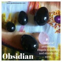 Obsidian Yoni Egg Set, obsidian yoni egg, yoni egg set, jade egg, kegel egg, goddess egg, goddess wands, goddesswands, yoni, gemstone egg