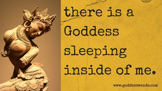 There is a Goddess sleeping inside of me... | Sacred Sex