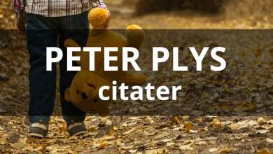 Photo of Peter Plys citater