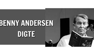 Photo of Benny Andersen Digte