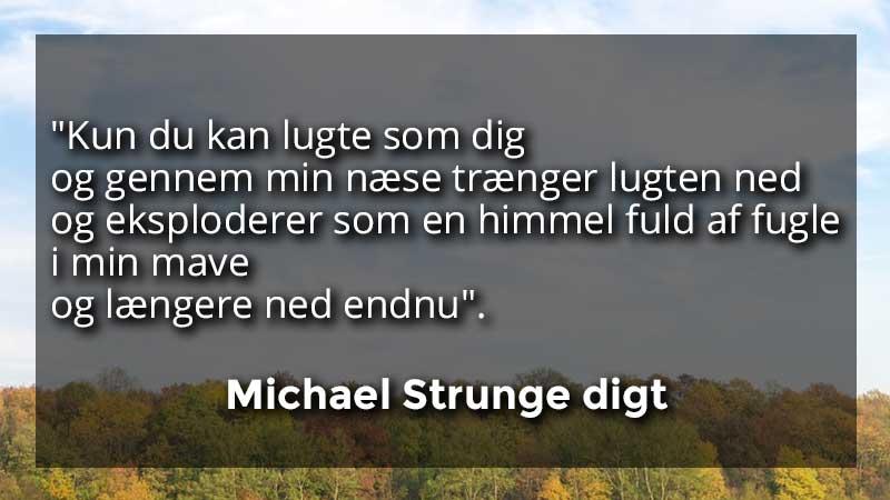 michael strange digt 1