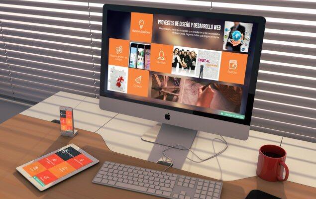 Diseño web empresarial a medida