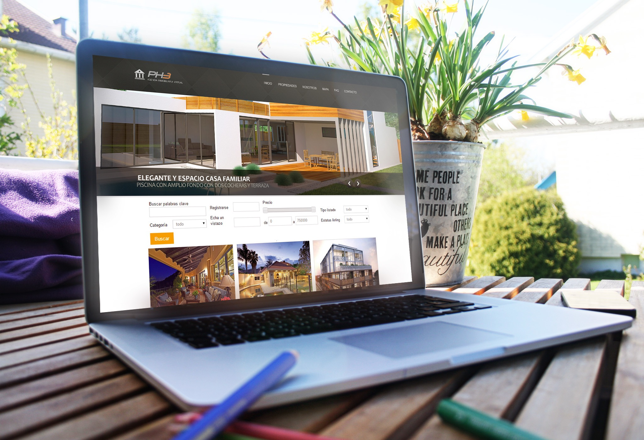Diseños web originales profesionales