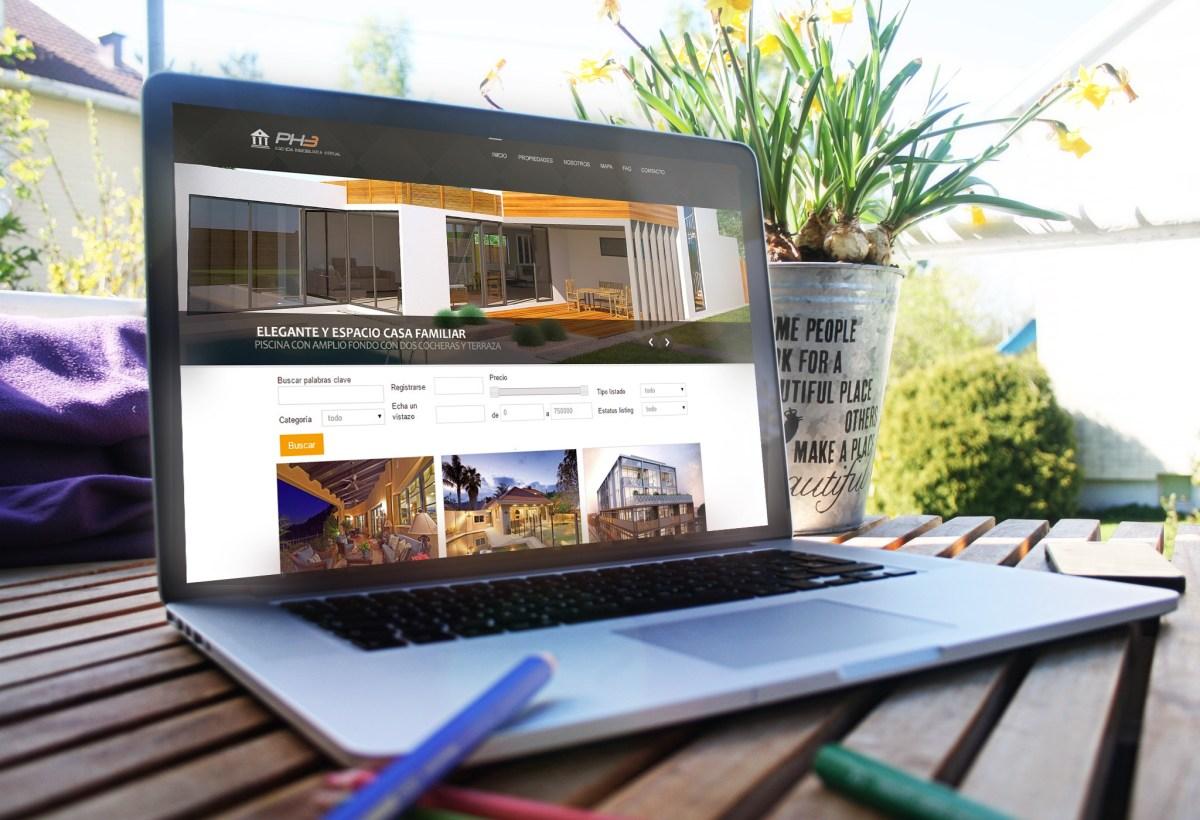 Diseño Web Inmobiliario por GoDesign