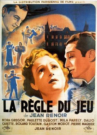 film poster for the-rules-of-the-game