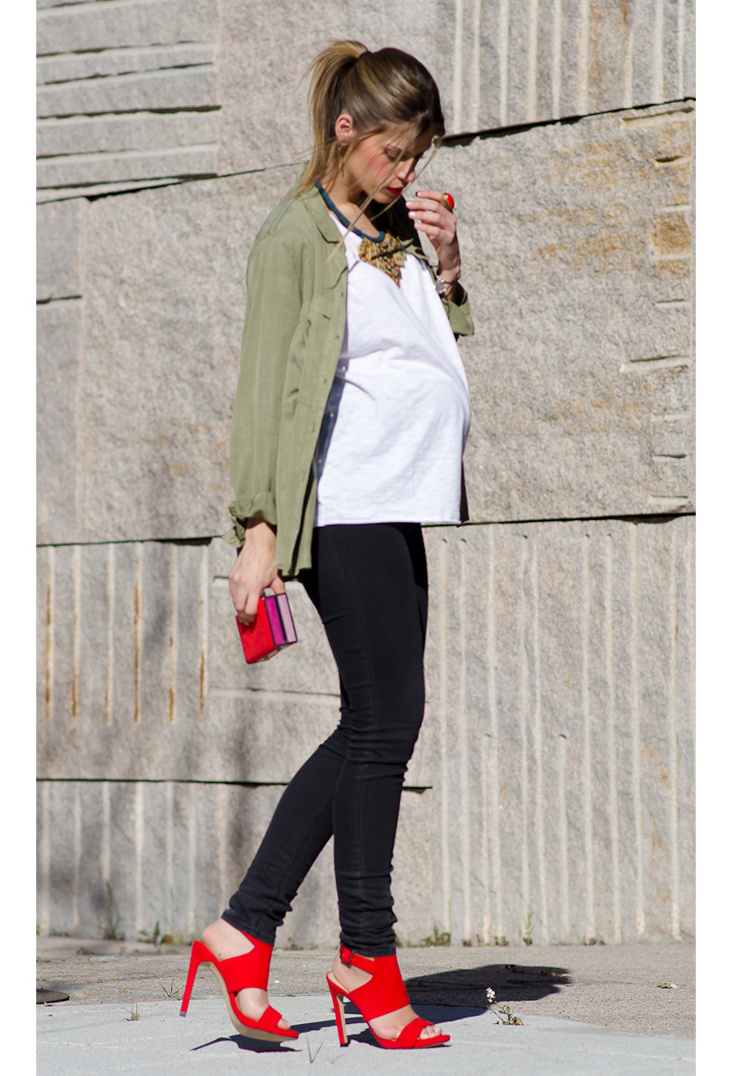 25 COOL MATERNITY STREET STYLE INSPIRATIONS Godfather Style