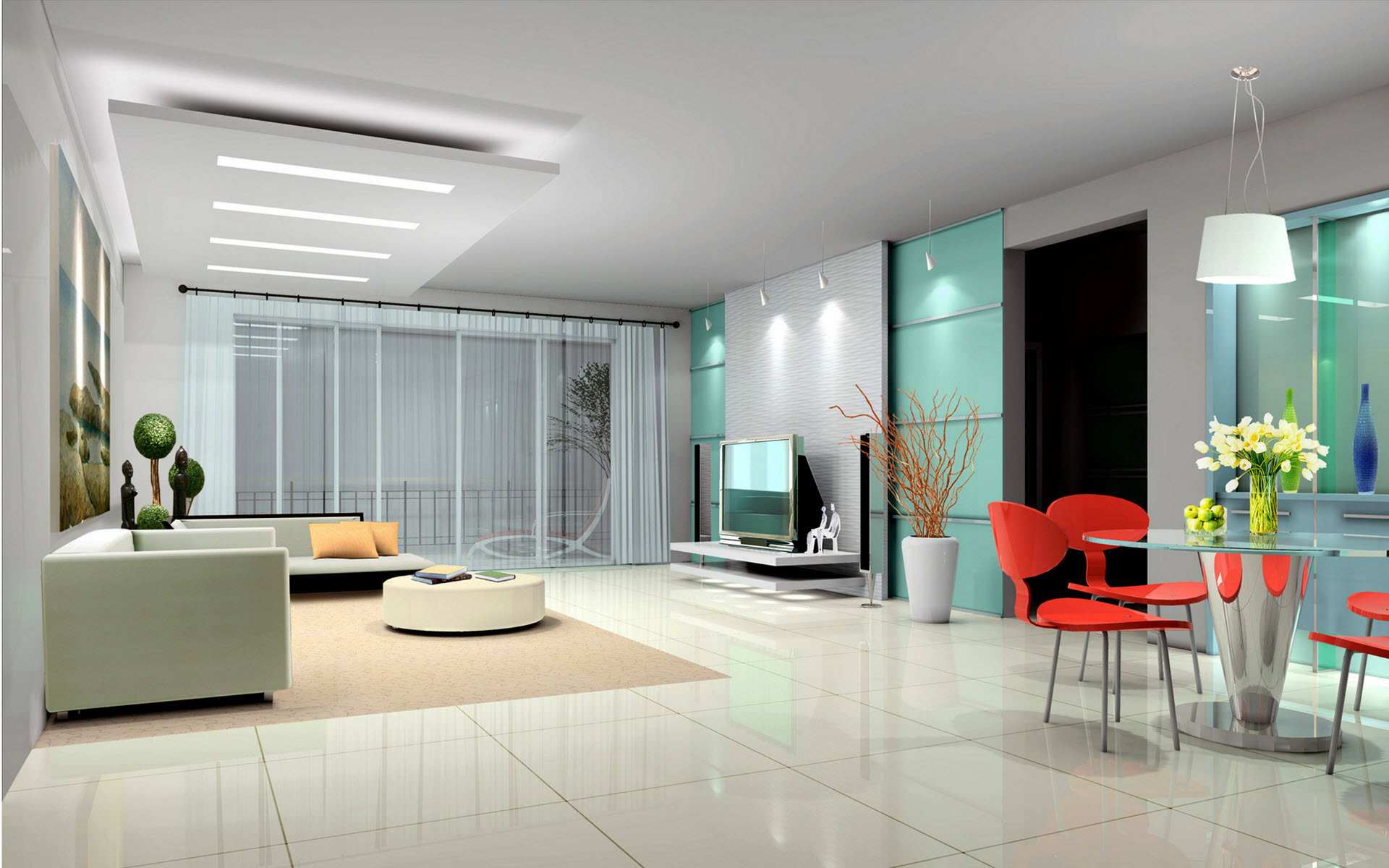 23 MODERN INTERIOR DESIGN IDEAS FOR THE PERFECT HOME ... on Modern House Ideas Interior  id=31188