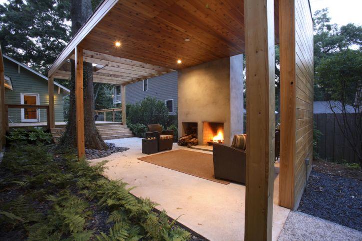 26 MODERN CONTEMPORARY OUTDOOR DESIGN IDEAS ... on Doobz Outdoor Living id=99803