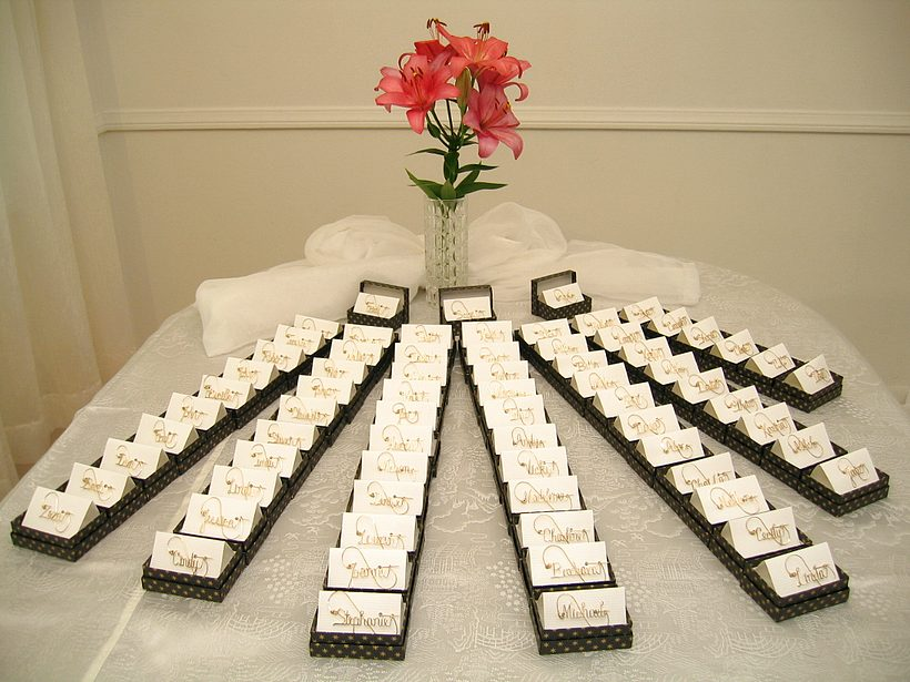 25 INETRESTING THANK YOU WEDDING GIFT FOR THE GUESTS.......