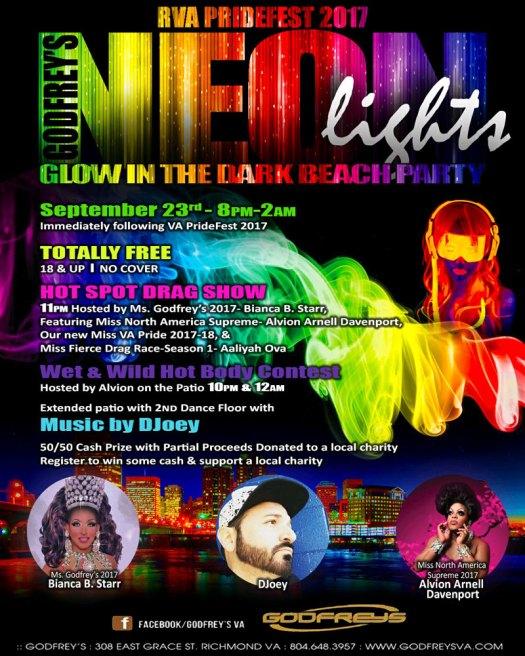 Godfrey's Neon Lights