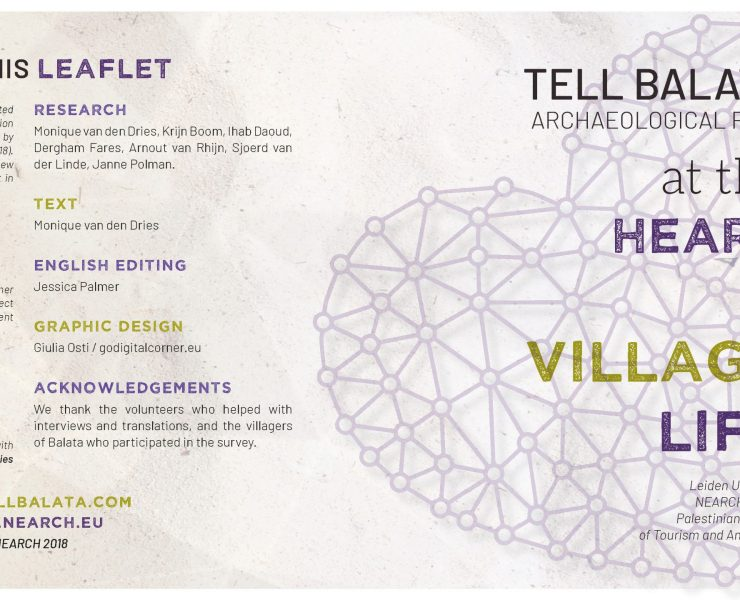 Tell Balata leaflet