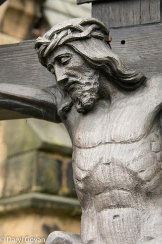 crucifix wooden