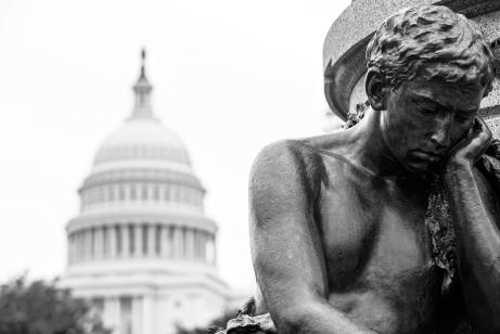 man statue capitol