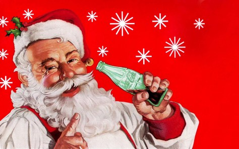 santa claus is real coca-cola