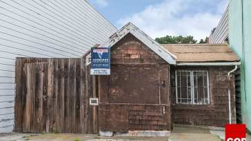 The listed property at 16 De Long Street in San Francisco that sold for $1.2 million. Courtesy of Vanguard Properties
