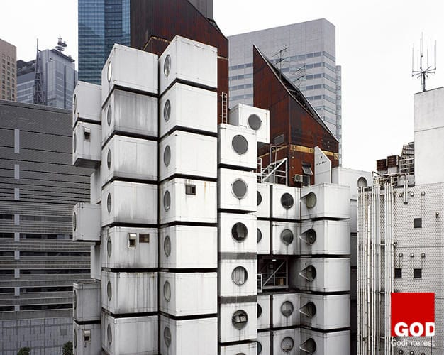 Japan�s famed Capsule Tower (and its scheduled demolition!), an iconic structure and unique archetype for contemporary prefab architecture. Designed by Kisho Kurokawa