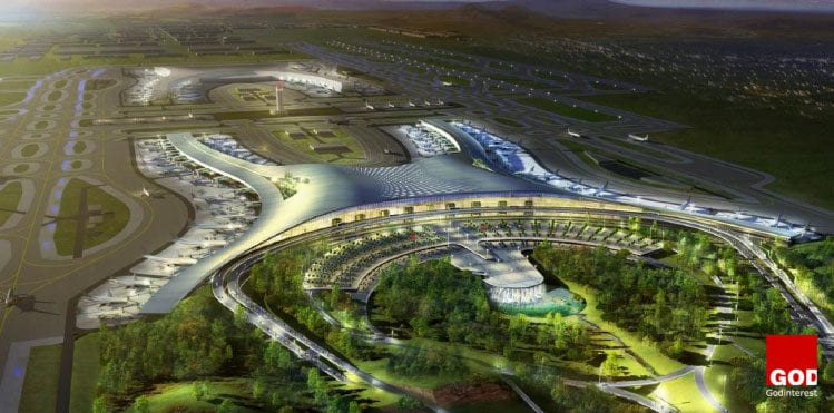 Working in partnership with China Southwest Architectural Design and Research Institute and the China Railway Design Institute, ADPI also won the competition to design and develop Terminal 3 at Chongqing Jiangbei International Airport in 2011. Phase 1 of the project will increase the airport's capacity to 45 million passengers per year by 2020.