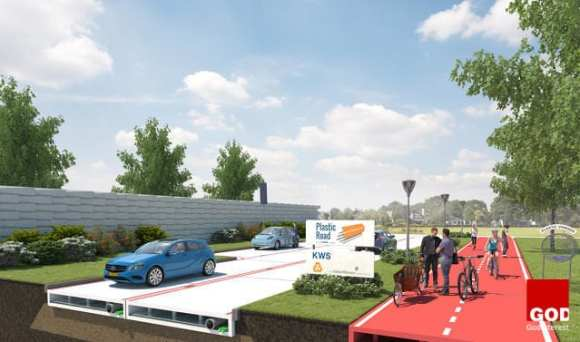 Where the Rubber Meets the Plastic: Dutch Firm Plans Lego-Like Roads