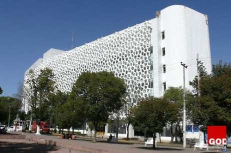 The Manuel Gea González Hospital in Mexico City