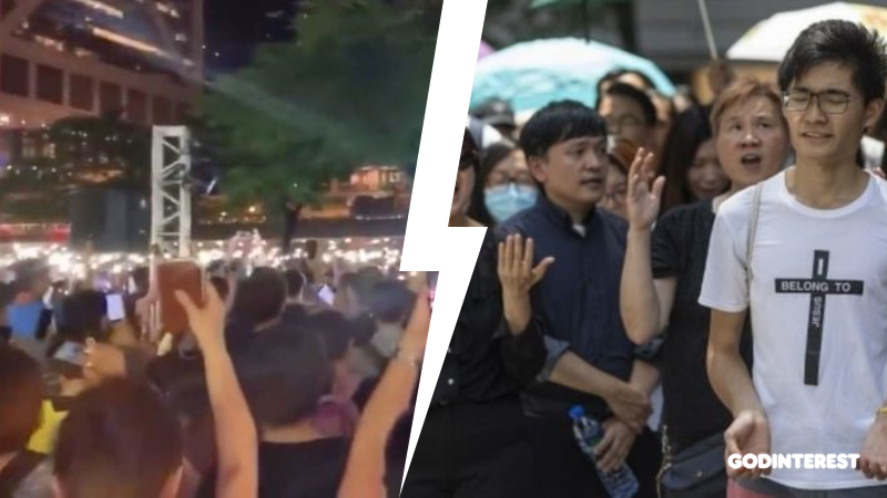Hong Kong protests: How Hallelujah to the Lord became an unofficial anthem