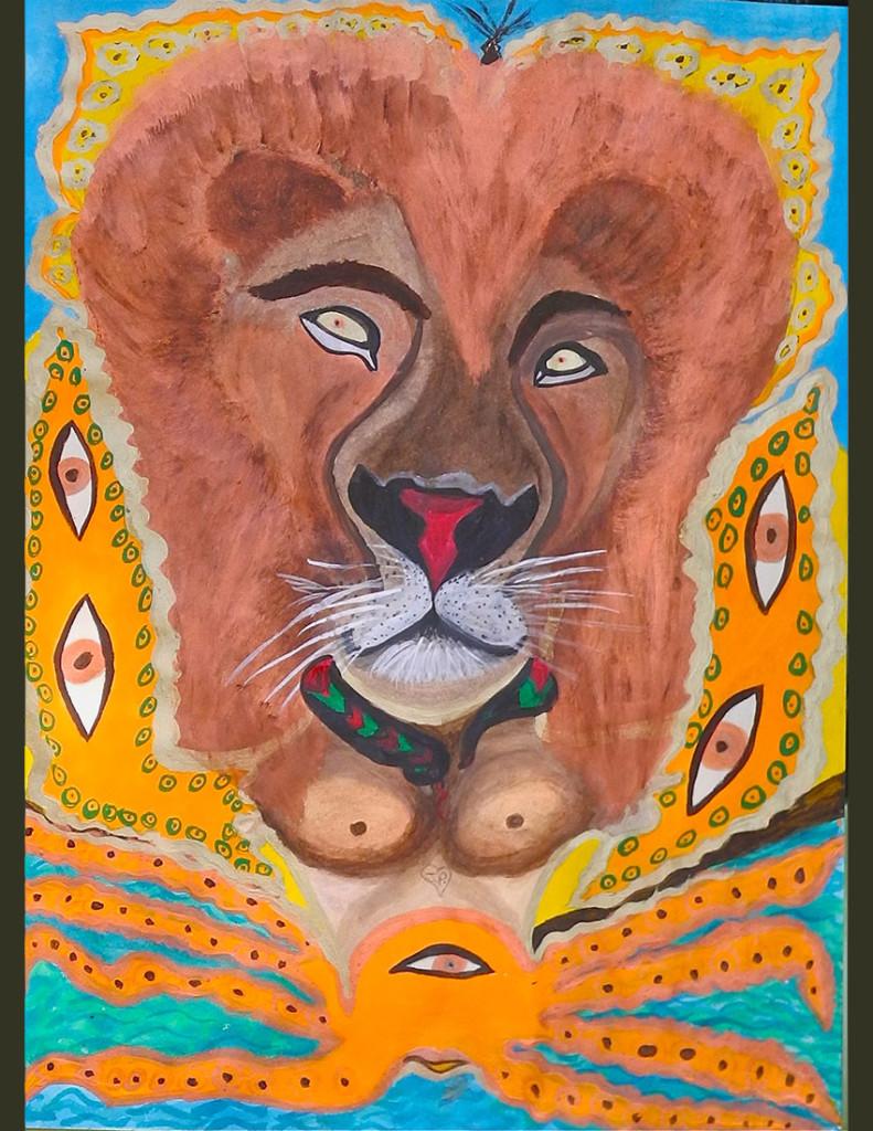 Joyces lionSLIDER