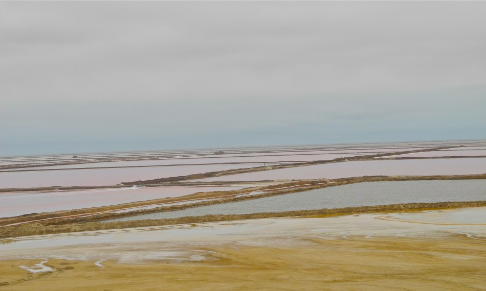 salt flats of Walvis Bay