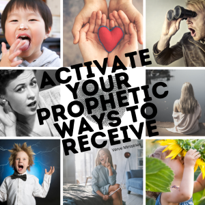 """9 image grid with text saying """"Activate your prophetic receptors"""""""