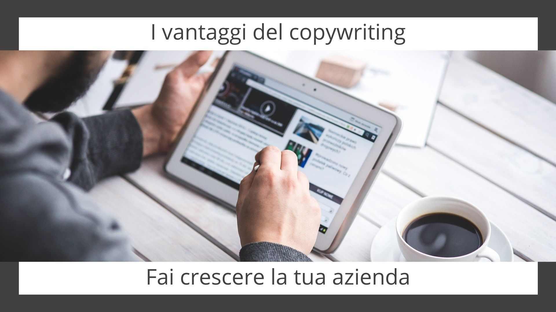 L'azienda cresce con il copywriting